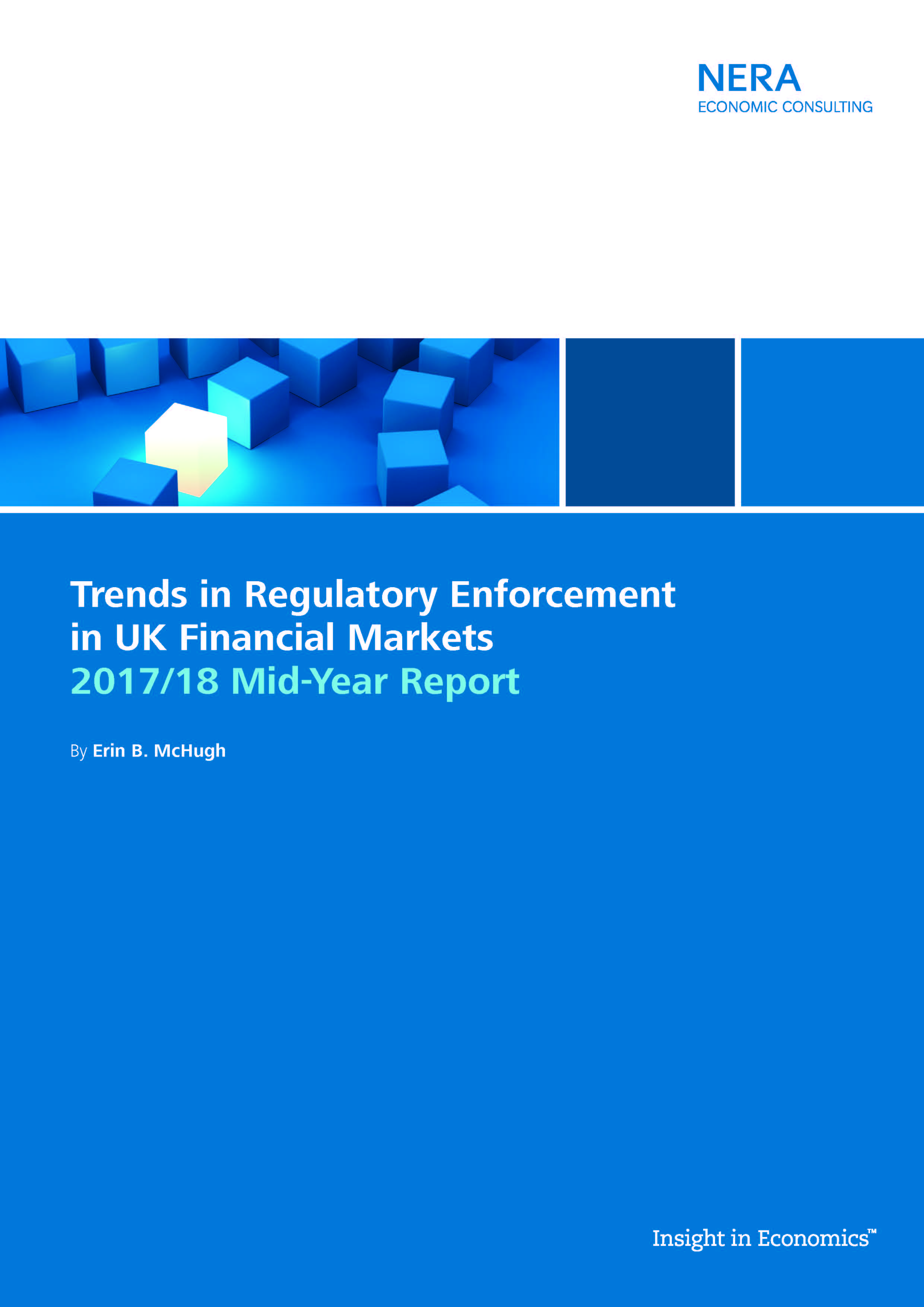 Trends in Regulatory Enforcement in UK Financial Markets Reports