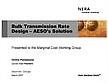 Bulk Transmission Rate Design -- AESO's Solution