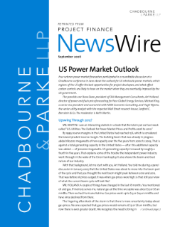 US Power Market Outlook
