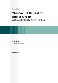 The Cost of Capital for Dublin Airport