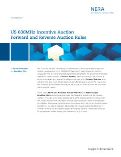 Updated: US 600MHz Incentive Auction Forward and Reverse Auction Rules