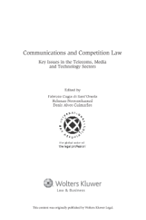 In Search of a Competition Doctrine for Information Technology Markets: Recent Antitrust Developments in the Online Sector