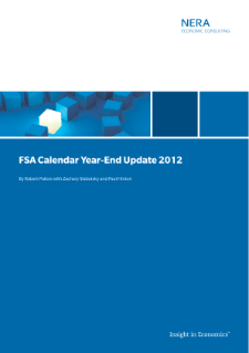 FSA Calendar Year-End Update 2012