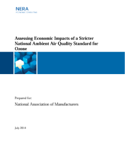 Assessing Economic Impacts of a Stricter National Ambient Air Quality Standard for Ozone