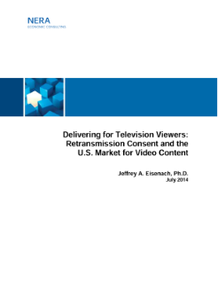 Delivering for Television Viewers: Retransmission Consent and the US Market for Video Content