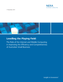 Levelling the Playing Field: The Role of the Internet and Mobile Computing in Improving the Efficiency and Competitiveness of Australian Small Business