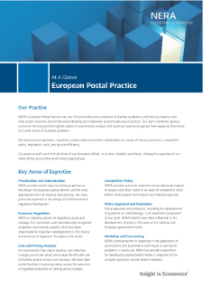 European Postal Practice At A Glance