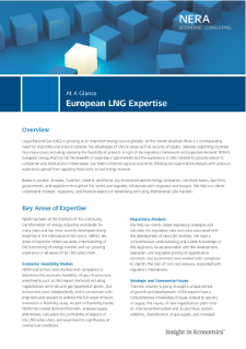 European LNG Expertise At A Glance