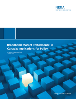 Broadband Market Performance in Canada: Implications for Policy