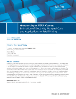 Estimation of Electricity Marginal Costs and Applications to Retail Pricing