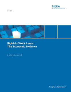 Right-to-Work Laws: The Economic Evidence