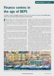 Finance Centers in the Age of BEPS