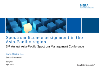 2nd Annual Asia-Pacific Spectrum Management Conference
