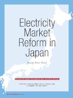 Electricity Market Reform in Japan: Bumpy Road Ahead