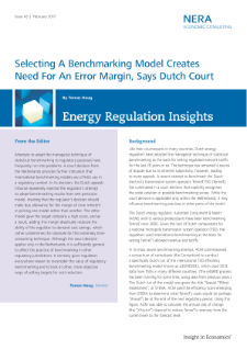 Selecting a Benchmarking Model Creates Need for an Error Margin, Says Dutch Court