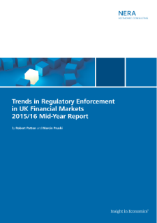 Trends in Regulatory Enforcement in UK Financial Markets 2015/16 Mid-Year Report