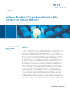A Square Regulatory Peg in a Round Industry Hole: Europe's Gas Industry Problems