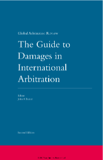 Damages in Financial Services Arbitrations in GAR's Second Edition of The Guide to Damages in International Arbitration
