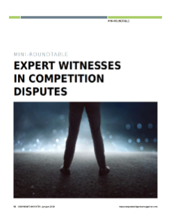Expert Witnesses in Competition Disputes
