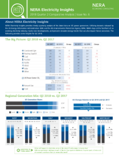NERA Electricity Insights | Q2 2018