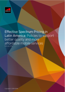 NERA Consultants Comment on Effective Spectrum Pricing in Latin America