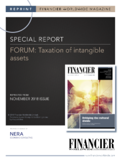 Forum: Taxation of Intangible Assets