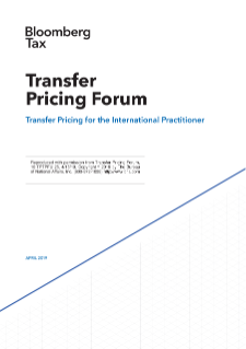 NERA Contributes to Bloomberg Tax Spring 2019 Transfer Pricing Forum