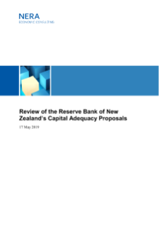 Review of the Reserve Bank of New Zealand's Capital Adequacy Proposals
