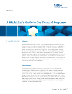A Hitchhiker's Guide to Gas Demand Response