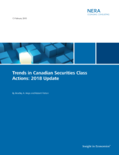 Important Securities and Finance Trends Captured in Three NERA Trends Reports