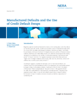 Manufactured Defaults and the Use of Credit Default Swaps