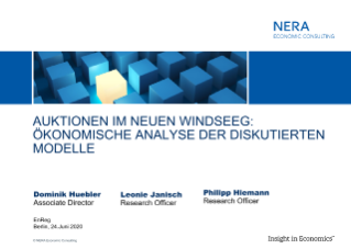 Online Workshop on the Reform of the German Offshore Wind Act (WindSeeG)