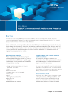 International Arbitration At A Glance