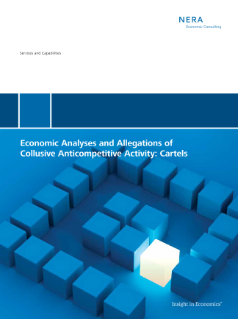 Economic Analyses and Allegations of Collusive Anticompetitive Activity: Cartels