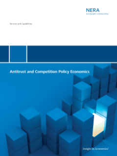 Antitrust & Competition Policy Economics