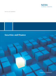 The Economics of Securities and Financial Litigation