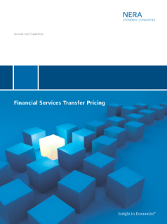 Financial Services Transfer Pricing