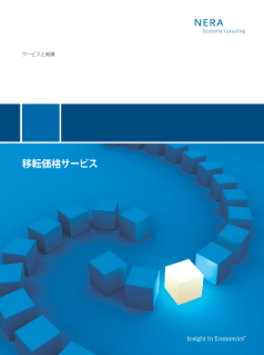 Transfer Pricing Services (Japanese translation)