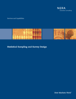 Statistical Sampling and Survey Design