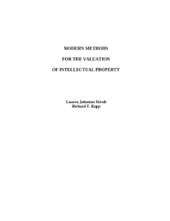 Modern Methods For the Valuation of Intellectual Property