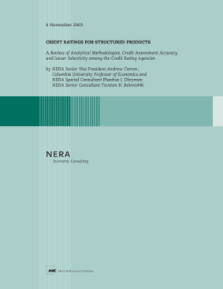 Credit Ratings for Structured Products: A Review of Analytical Methodologies, Credit Assessment Accuracy, and Issuer Selectivity