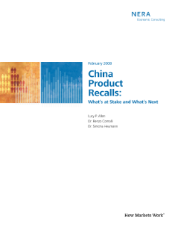 China Product Recalls: What's at Stake and What's Next