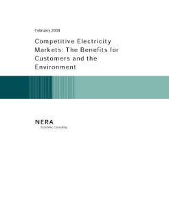 Competitive Electricity Markets: The Benefits for Customers and the Environment