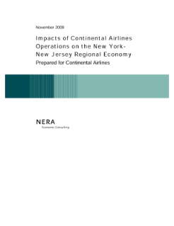Impacts of Continental Airlines Operations on the New York-New Jersey Regional Economy