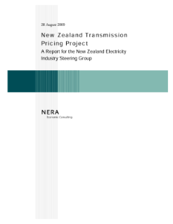 New Zealand Transmission Pricing Project
