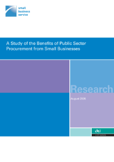 A Study of the Benefits of Public Procurement from Small Businesses
