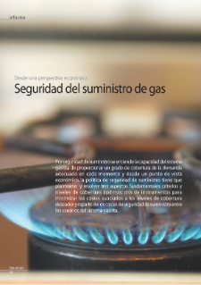Seguridad del suministro del gas desde una perspectiva económica (An Economic Perspective on Security of Supply in Natural Gas)