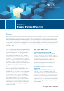 Supply-Demand Planning At A Glance