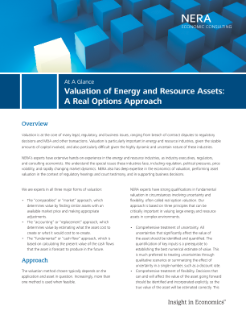 Valuation of Energy and Resource Assets: A Real Options Approach