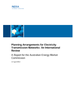 Planning Arrangements for Electricity Transmission Networks: An International Review